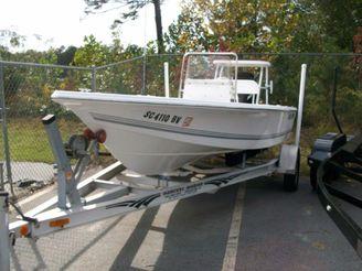 2006 Sea Pro SV1700CC Bay Boat