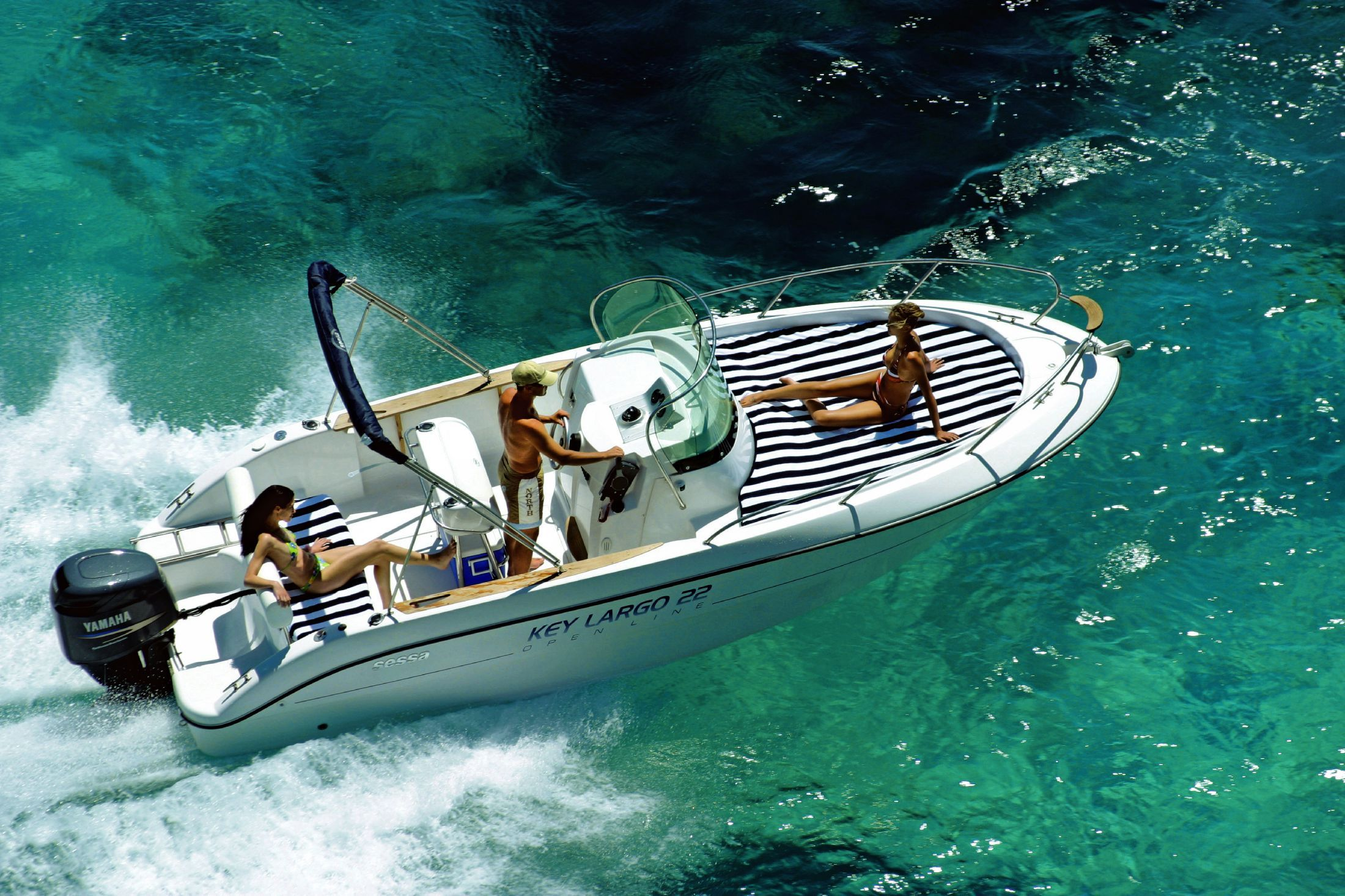 2018 sessa marine key largo 22 power new and used boats for. Black Bedroom Furniture Sets. Home Design Ideas