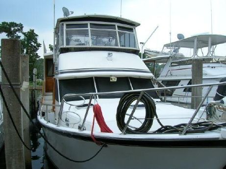 1988 Sea Ranger 52 Cockpit