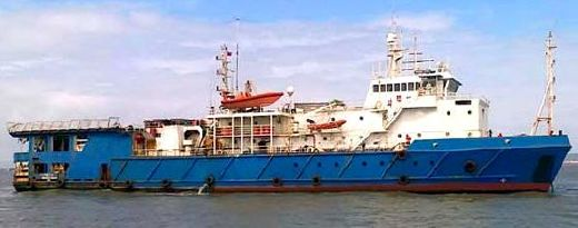 1986 Custom Seismic Research & Multi-Purpose Support Vessel