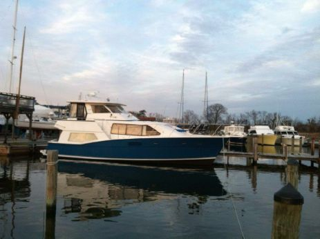1987 Krogen 42 Silhouette Pilothouse Updated Electronics