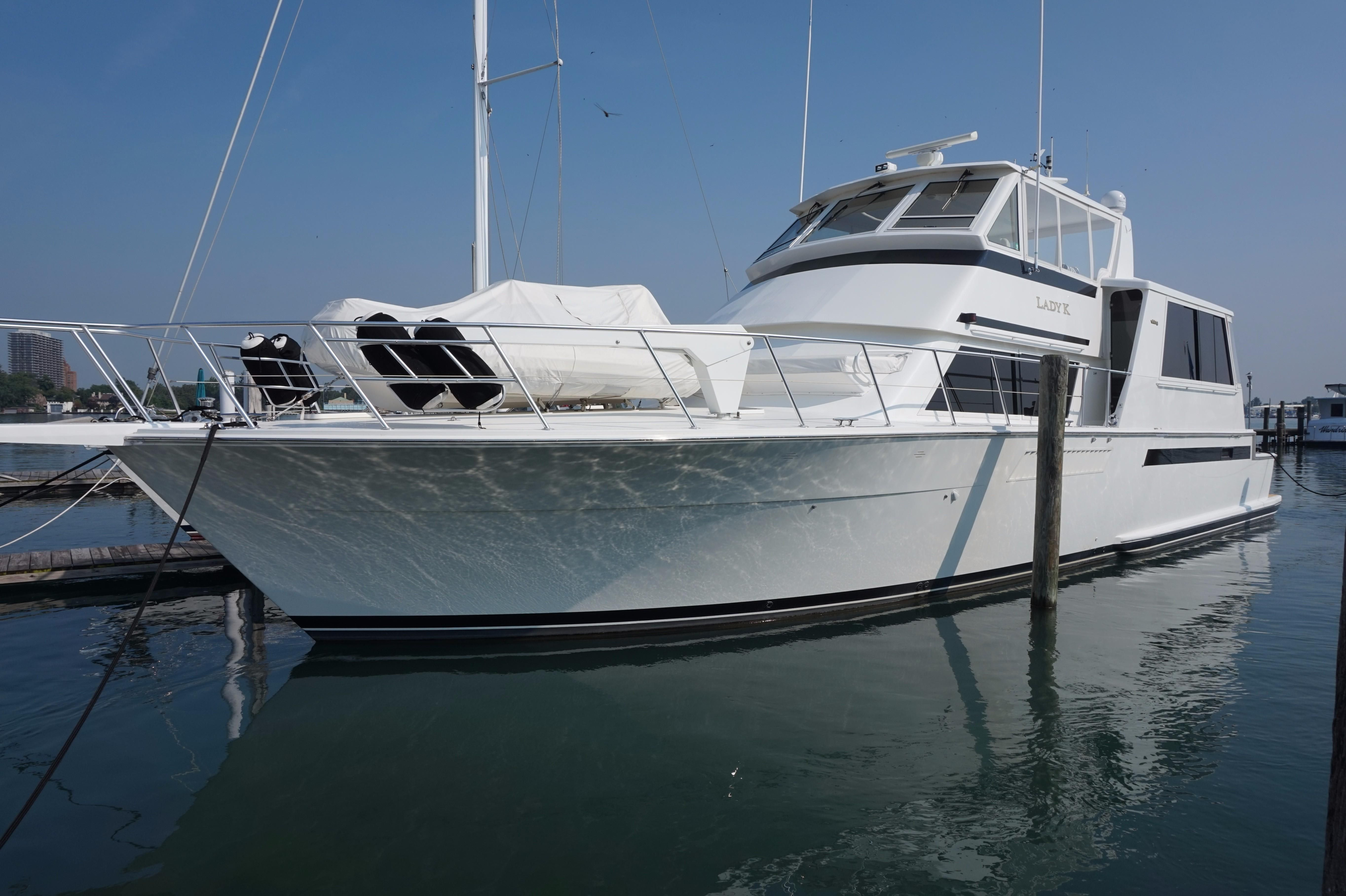 1997 viking 60 cockpit sports yacht power boat for sale for 60 viking motor yacht for sale