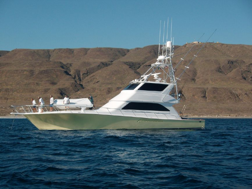 2001 65' VIKING ENCLOSED FLYBRIDGE Yacht for Sale in San Diego