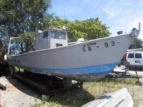 1989 Custom Built Workboat 38
