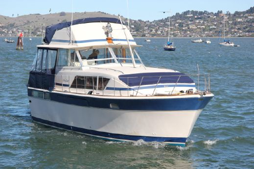 1981 Chris-Craft 410 repowered Commander