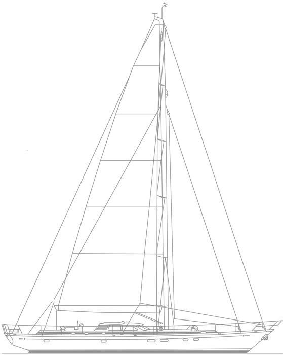 2001 Dixon 80 Sail Boat For Sale