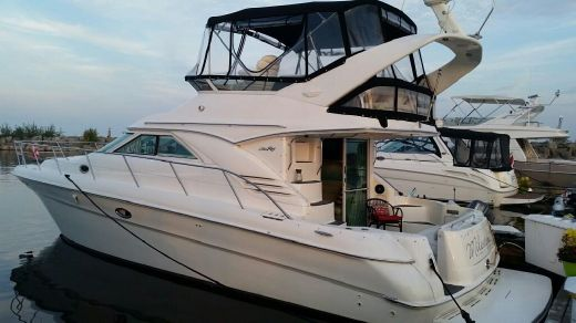 2001 Searay 400 Flybridge