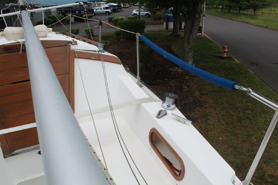 1987 Catalina 25 Sail Boat For Sale - www yachtworld com