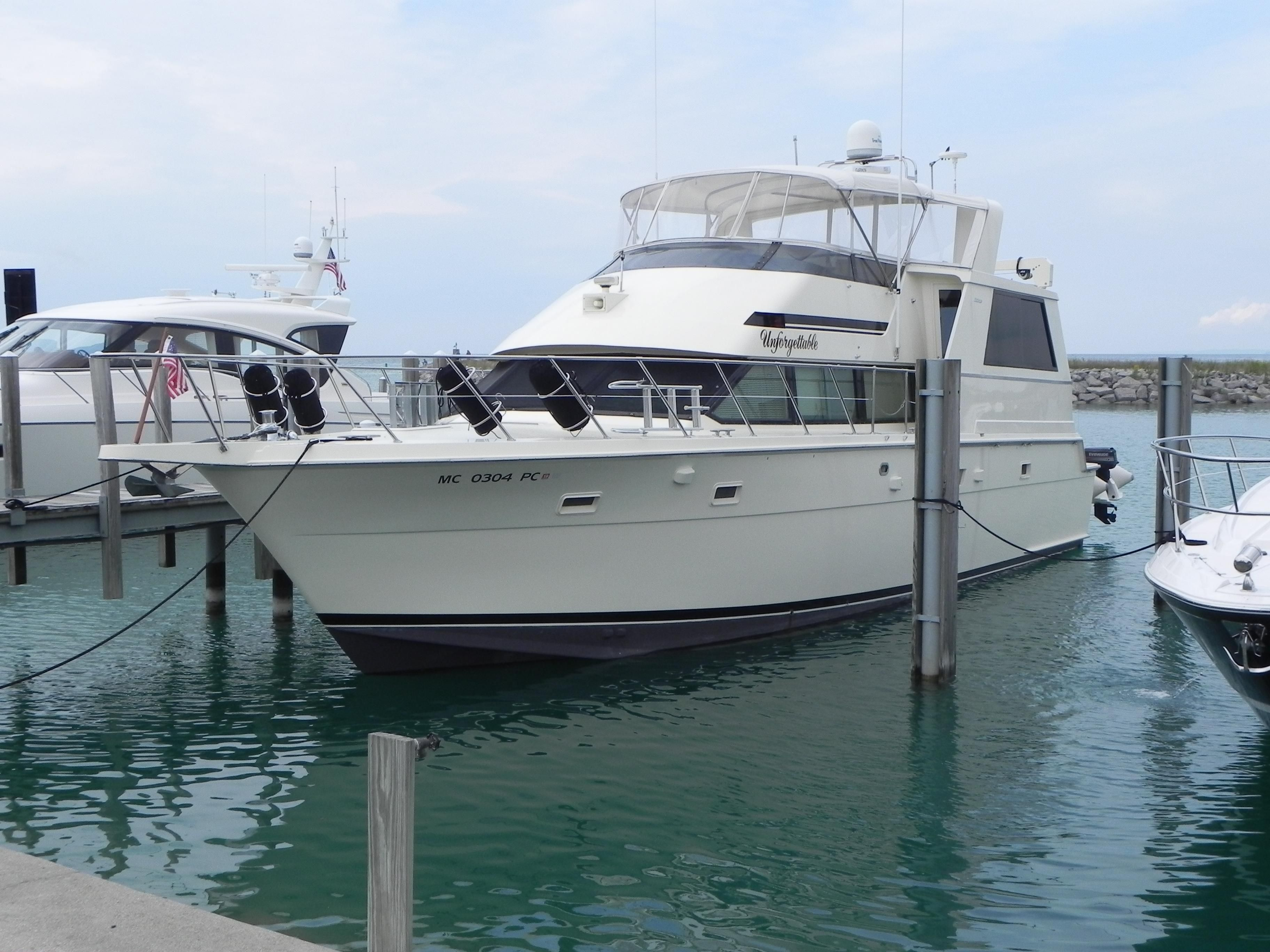 1992 Hatteras 52 Cockpit Motor Yacht Power Boat For Sale - www.yachtworld.com