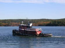 1944 Model Bow Tug 1750 Hp - Harbor Tugboat Tug Boat