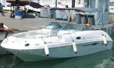 2001 Mariah 245 Deckboat