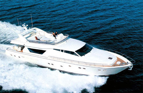 Ferretti Ferretti 80 Type Motor. This yacht is an excellent example of the ...