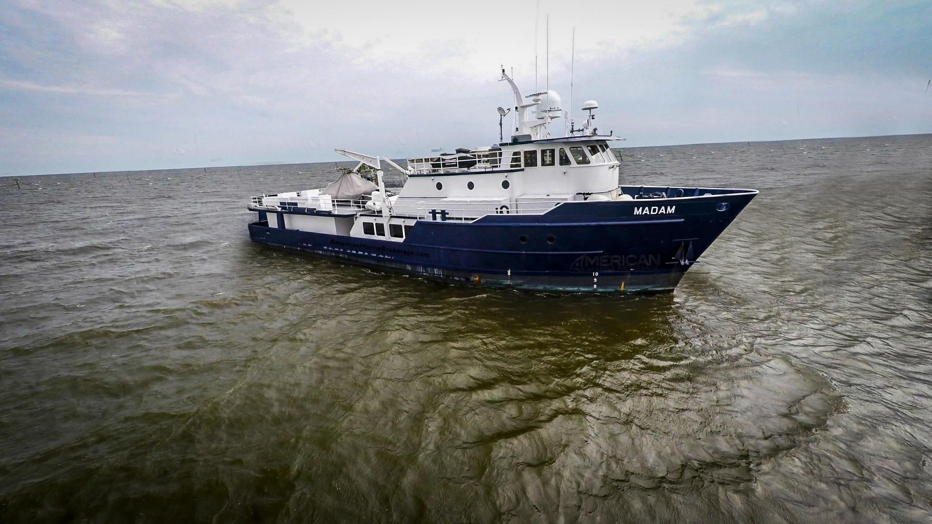 1978 camcraft mothership madam power boat for sale www for Sport fishing boats for sale by owner