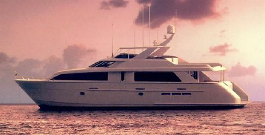 2001 Hatteras 84 Motor Yacht