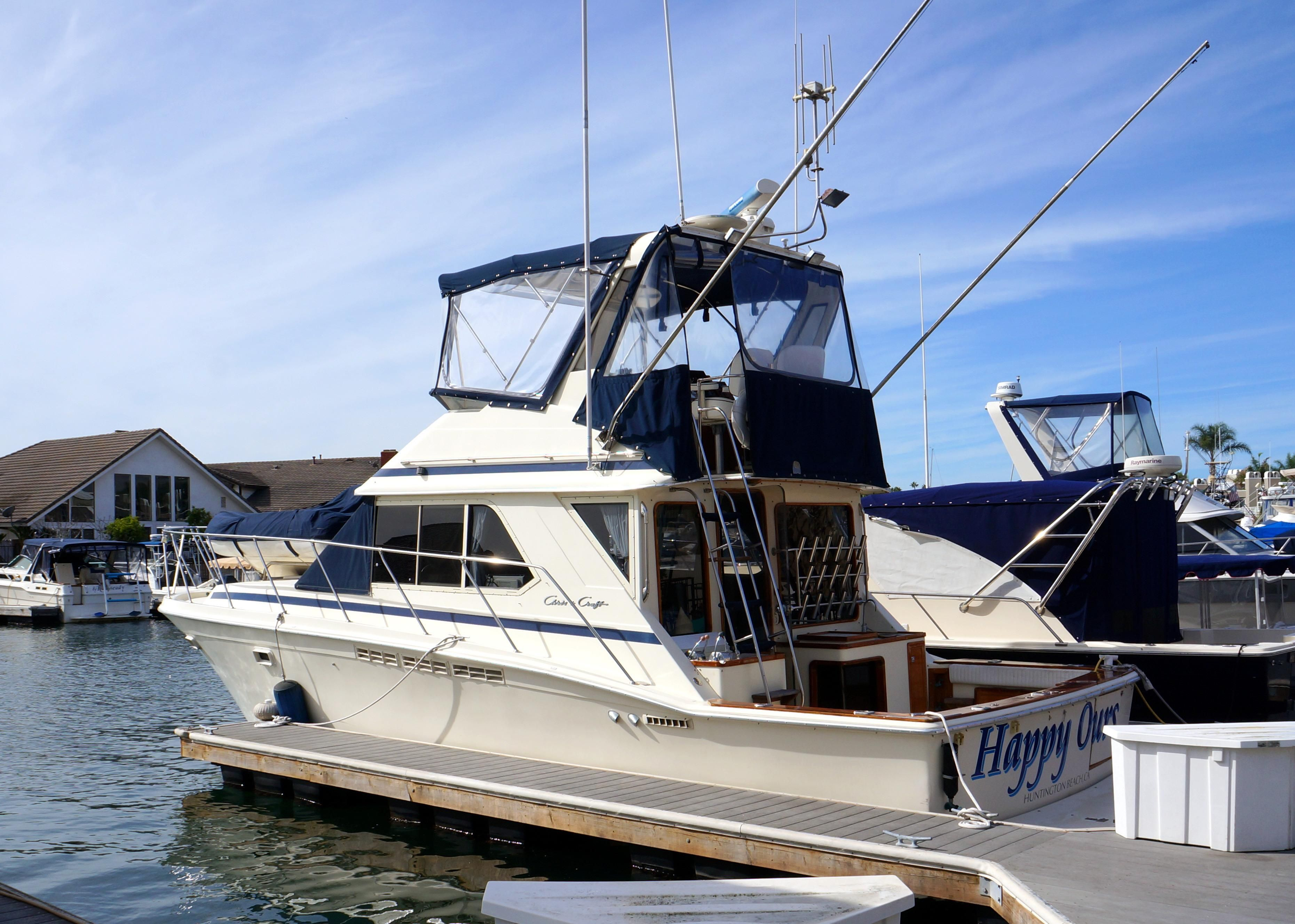 Used Chris Craft Power Boats With Diesel Engines For Sale