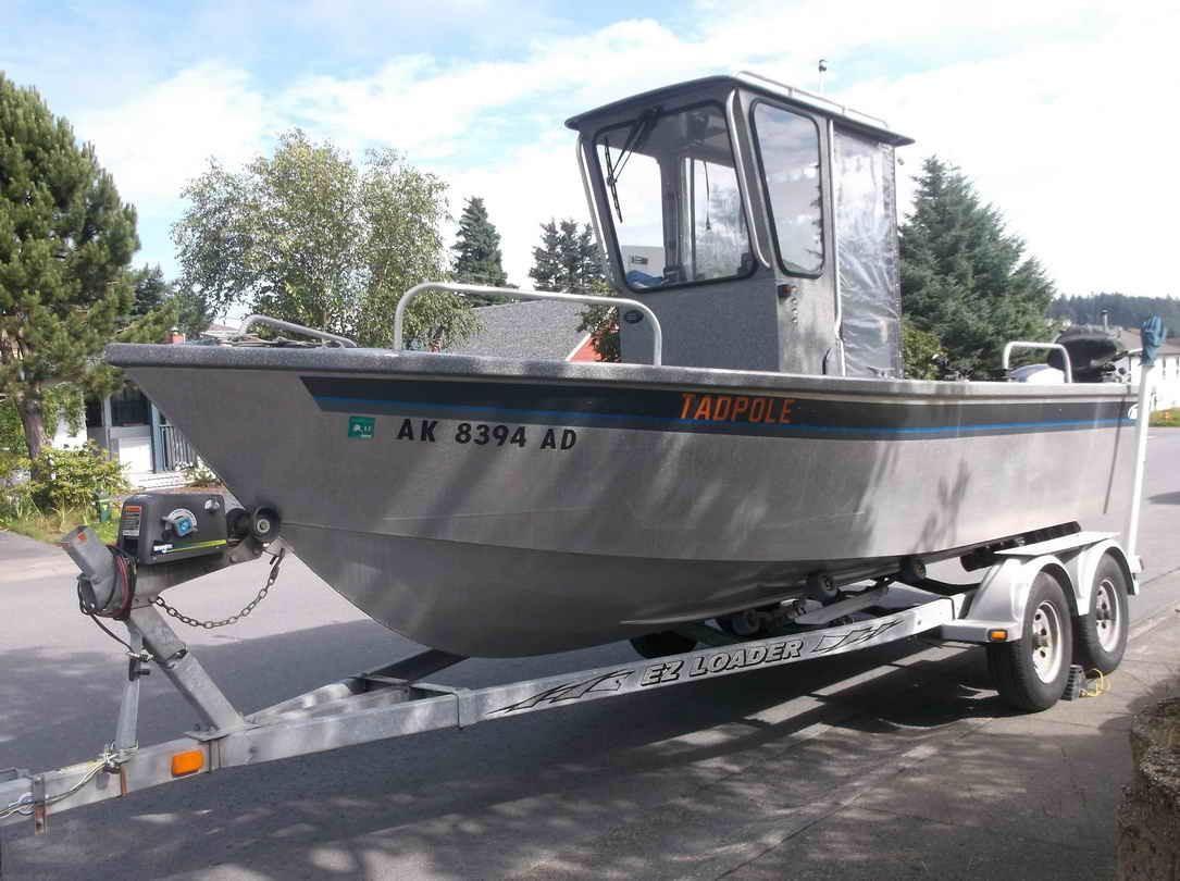 2003 aluminum alaska fishing boat almar sounder power for Alaska fishing boats for sale
