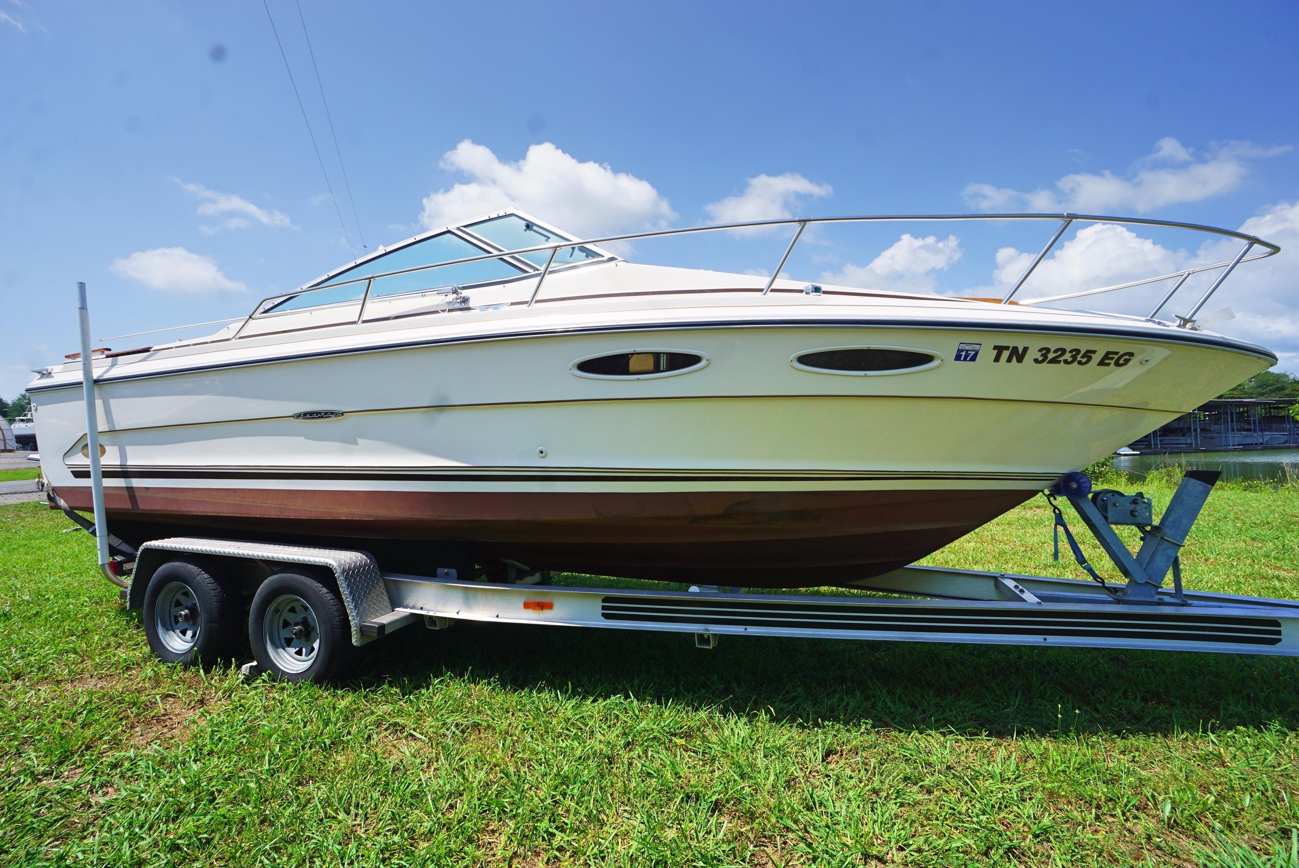 1985 Sea Ray 23 Cuddy Cuddy Cabin For Sale Yachtworld