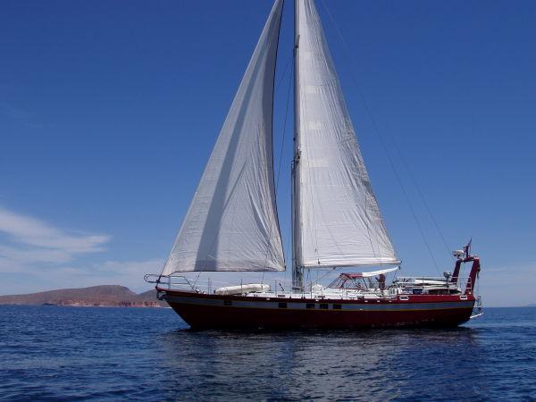 54' Polar Boat Cutter+Boat for sale!
