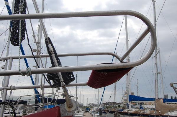 54' Polar Boat Cutter+Radar dome
