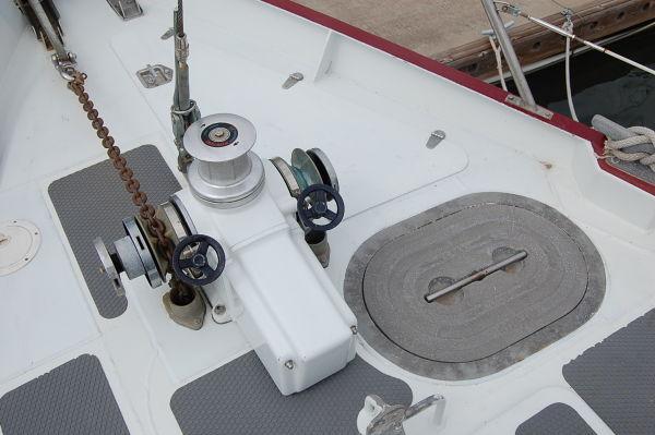 54' Polar Boat Cutter+Windvane