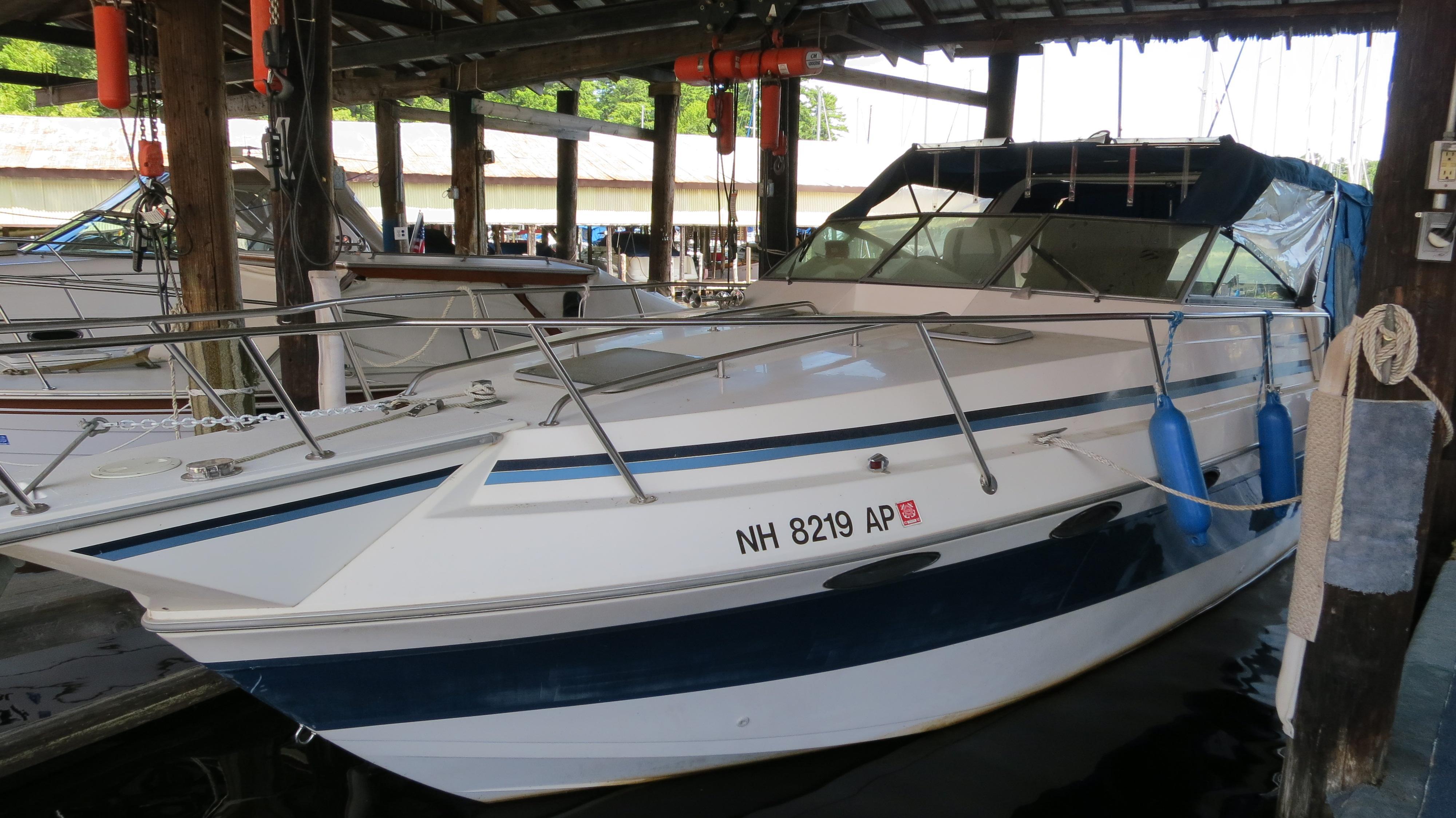27 ft 1987 sunrunner 276 cruiser