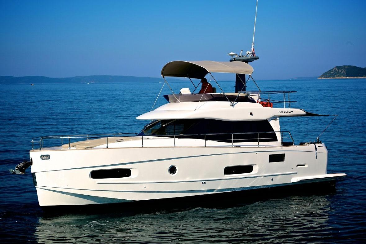 2014 azimut magellano 43 power boat for sale