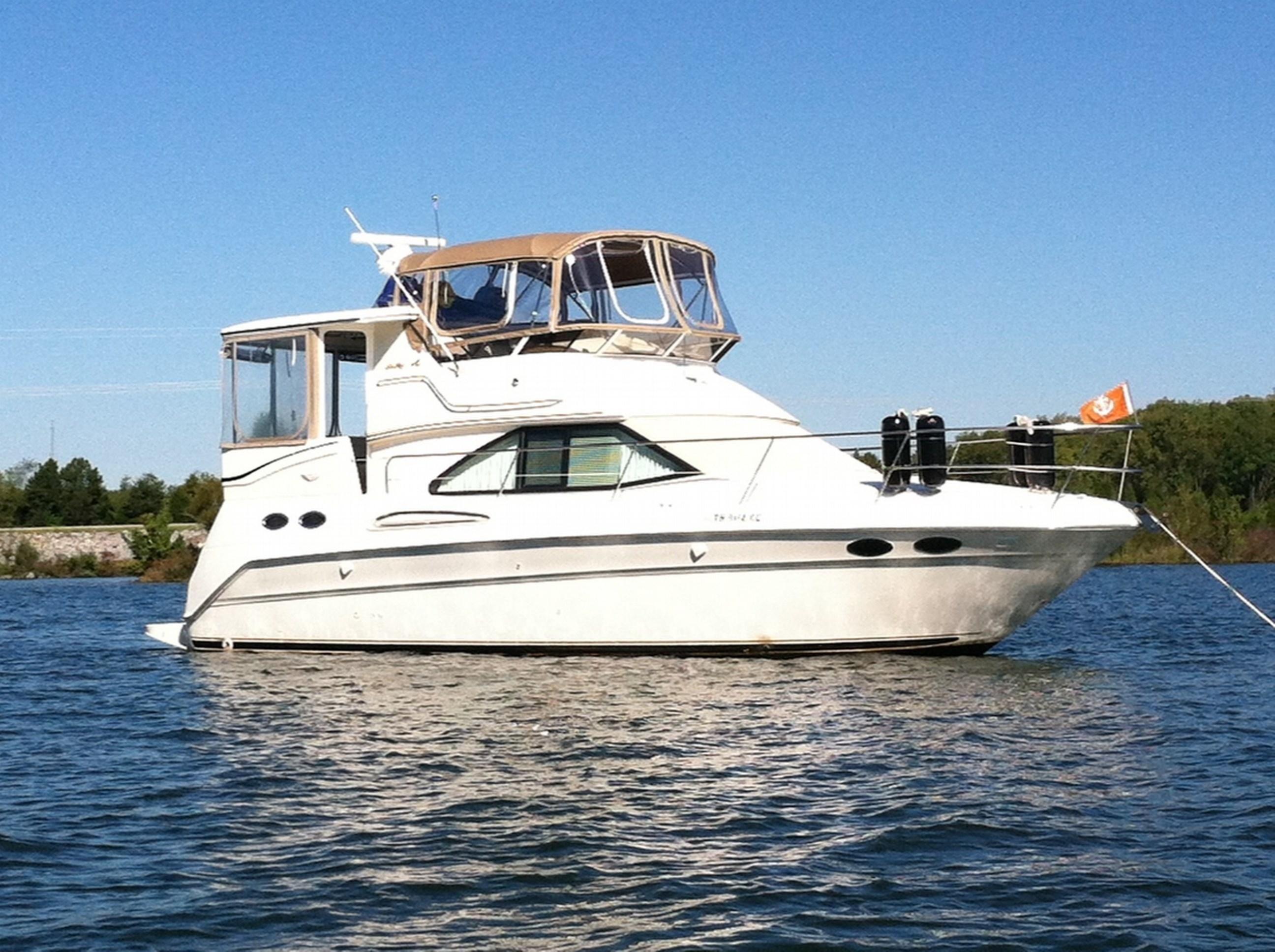 1999 Carver 356 Aft Cabin Motor Yacht Power Boat For Sale