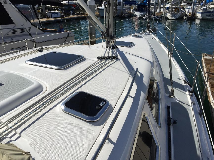 Hunter 41 DS Top Deck