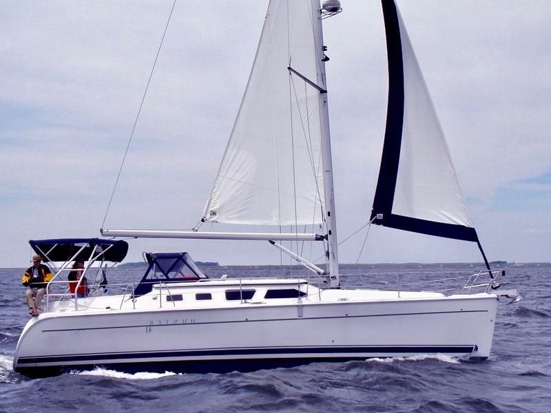 Hunter 41 Deck Salon Sailboat for sale in San Diego