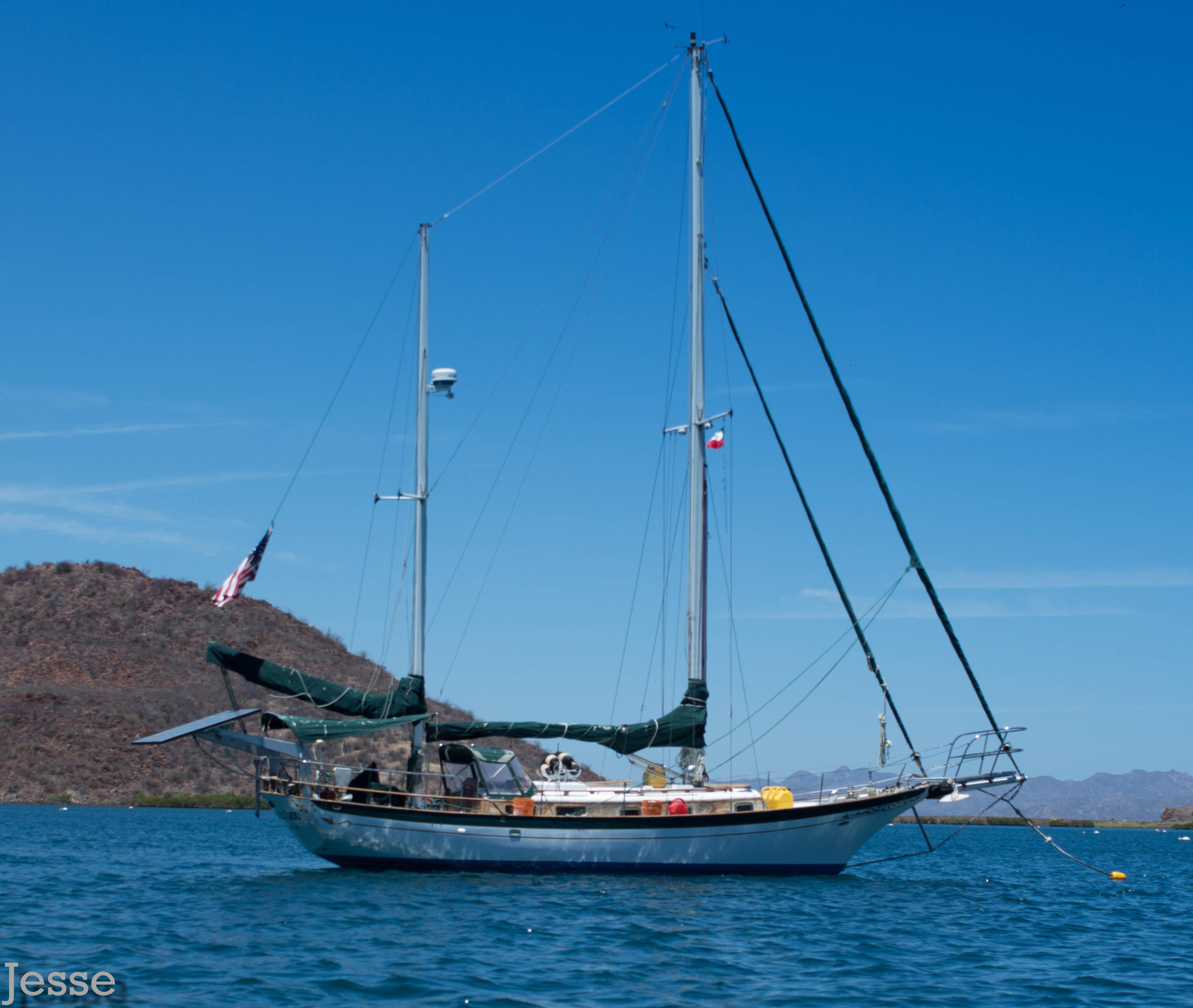36' Cheoy Lee Clipper Ketch+Boat for sale!