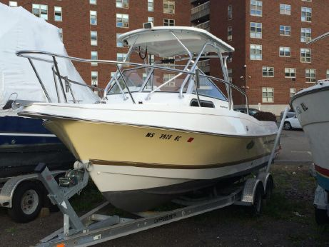 2002 Aquasport 225 Explorer with Yamaha Power