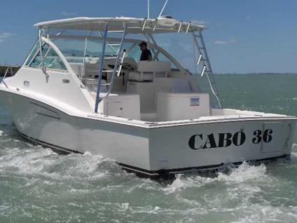2011 Cabo Yachts 36 Express
