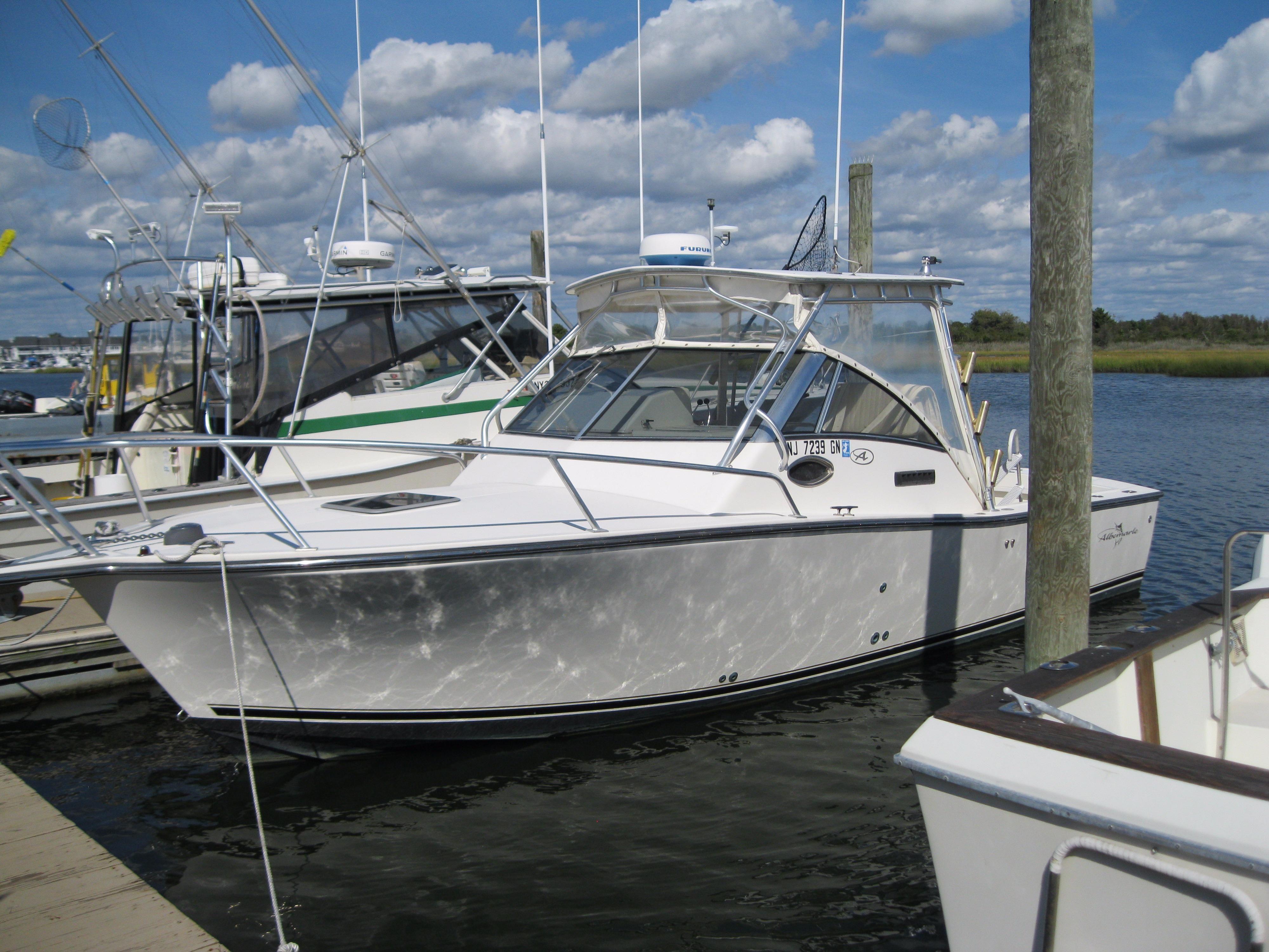 2001 albemarle 280 express fisherman power boat for sale for Express fishing boats for sale