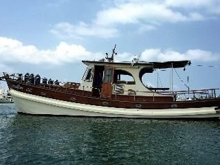 2003 Custom Made Wooden Fishing Boat