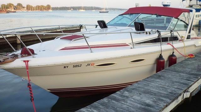 1988 sea ray 300 sundancer power boat for sale