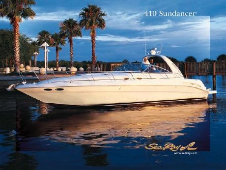 2003 Sea Ray 410 Sundancer 350HP Cats