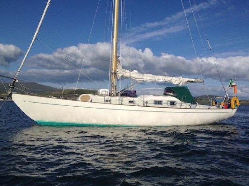 1966 Van De Stadt Excalibur 36 Sail Boat For Sale Www