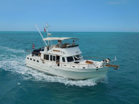 1984 Marine Trader sundeck trawler