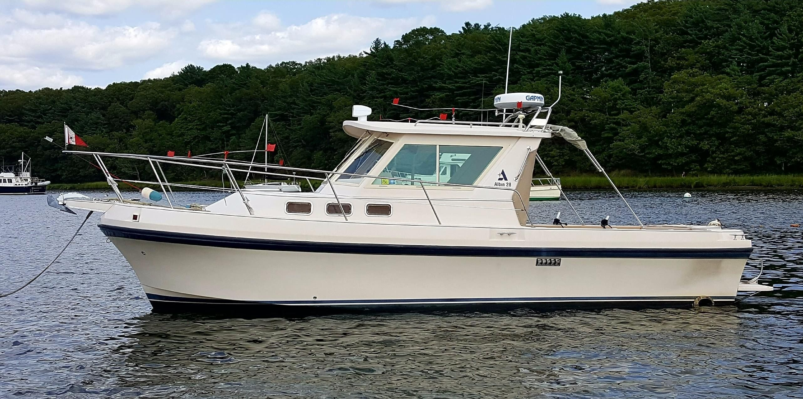2004 Albin 28 Tournament Express Power Boat For Sale Www