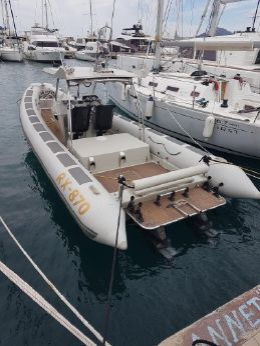 2012 Leader Boat RX 870