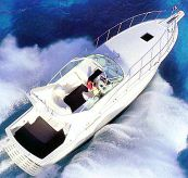 1997 Hatteras 43 Sport Express
