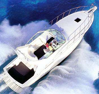 1999 Hatteras 43 Sport Express