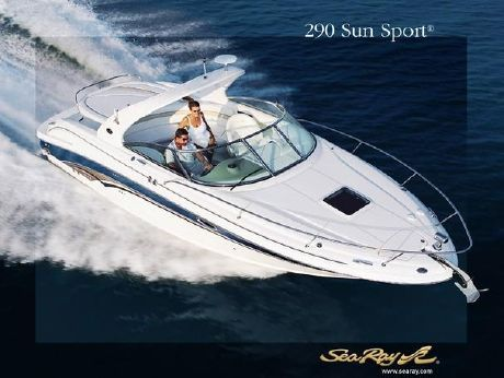 2003 Sea Ray 290 Sun Sport