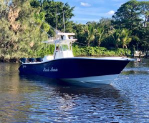 2008 Yellowfin 36 Low Hours