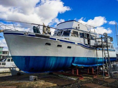 1962 Steel Motor Yacht 42