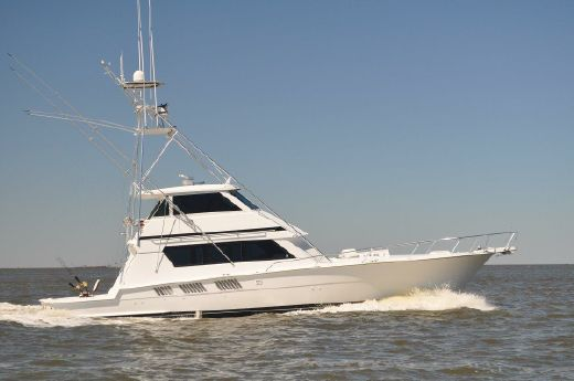 1987 Hatteras 65 Enclosed Bridge