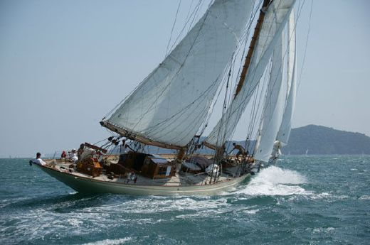 2003 William Fife Jun. Gaff-rigged Schooner