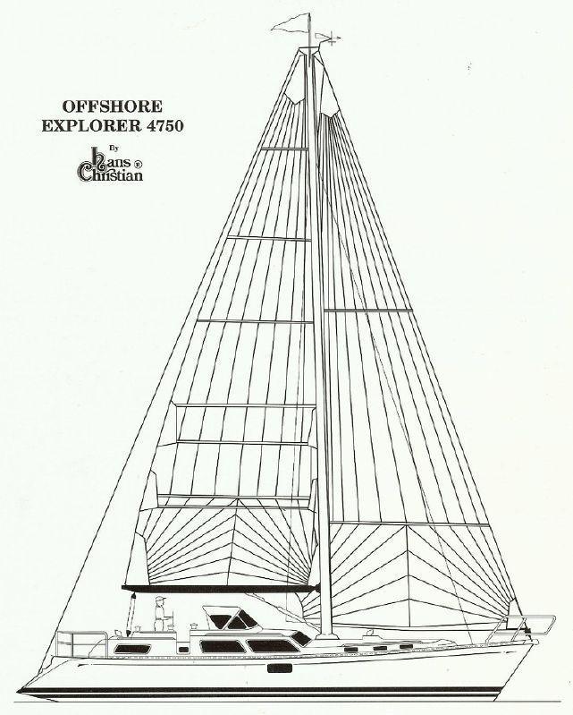 2011 Hans Christian Explorer Hallmark 4870 Sail Boat For Sale