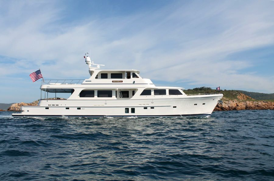 Offshore 90 Voyager Yacht for sale in Newport Beach