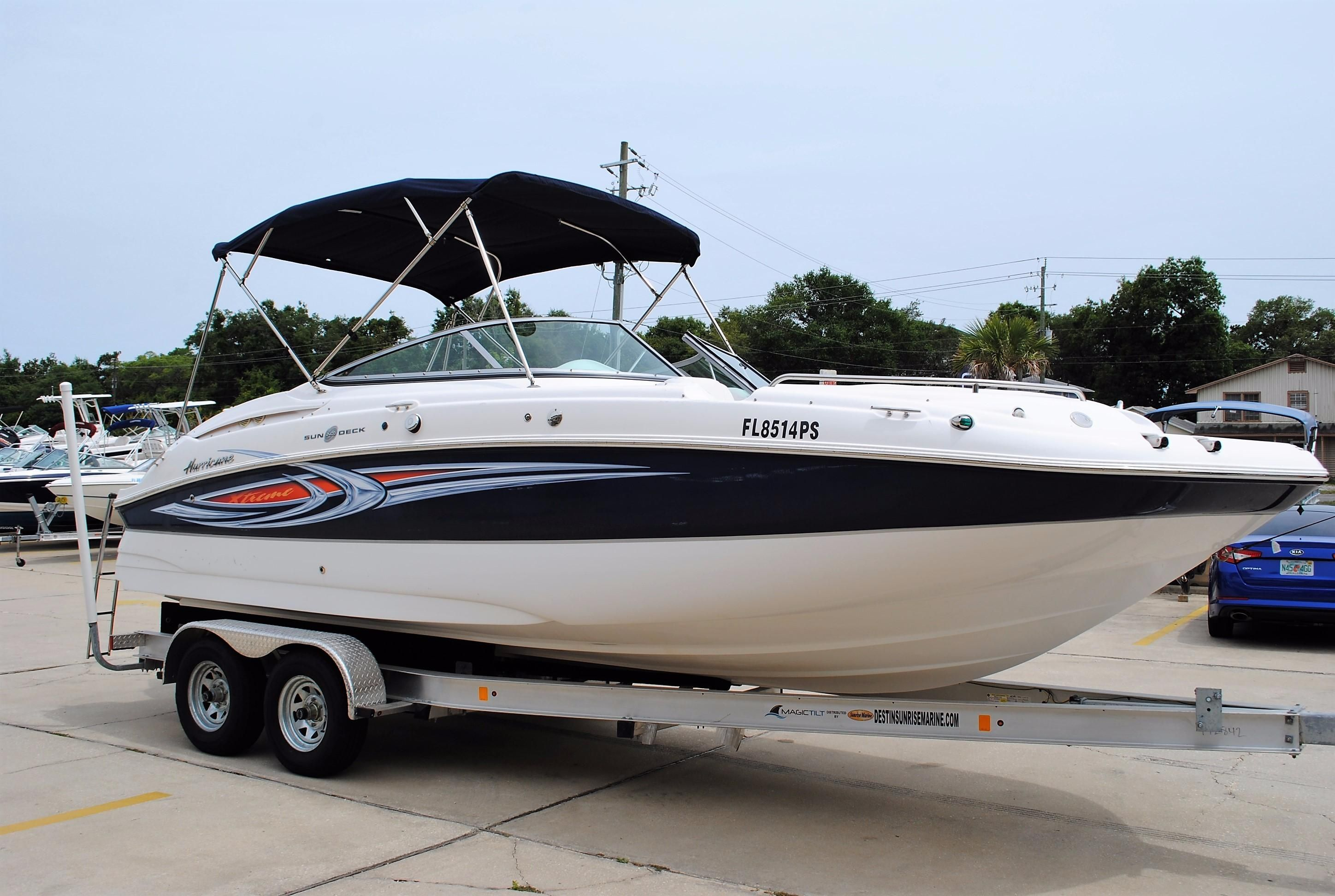 2014 hurricane 2400 sundeck power boat for sale www for Hurricane sundeck for sale